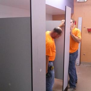 Click to view album: Commercial Bathroom Installation Projects